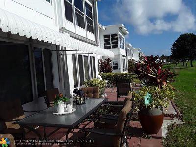 Pompano Beach Condo/Townhouse For Sale: 2750 W Golf #140
