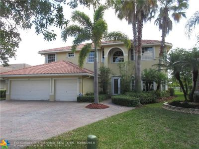 Coral Springs Single Family Home Backup Contract-Call LA: 5003 NW 123rd Ave