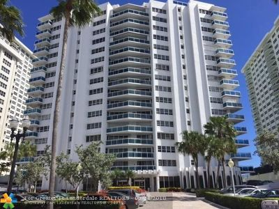 Condo/Townhouse For Sale: 3430 Galt Ocean Dr #308