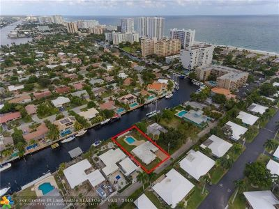 Lauderdale By The Sea Single Family Home For Sale: 7 Sunset Ln