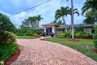 Fort Lauderdale Single Family Home For Sale: 2625 NE 26th Pl