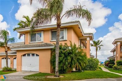 Oakland Park Condo/Townhouse For Sale: 3299 NW 44th St #6