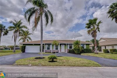 Coral Springs Single Family Home For Sale: 1828 NW 82nd Ave