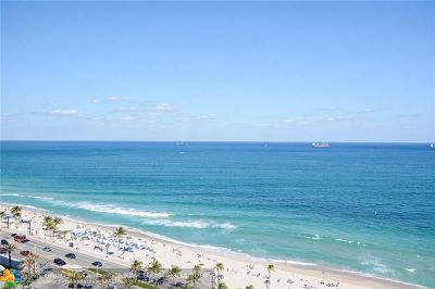 Broward County Condo/Townhouse For Sale: 505 N Ft Lauderdale Bch Bl #1714