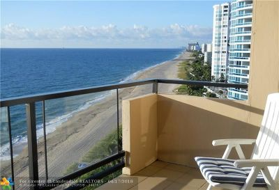Lauderdale By The Sea Condo/Townhouse For Sale: 1500 S Ocean Blvd #1205