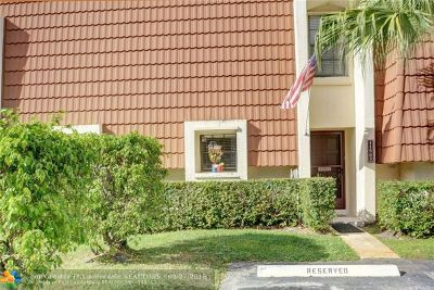 Plantation Condo/Townhouse Backup Contract-Call LA: 11563 NW 2nd St #11563