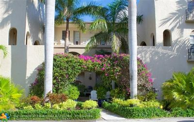 Wilton Manors Condo/Townhouse For Sale: 815 NE 28th St #210