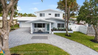 Lauderdale By The Sea Single Family Home For Sale: 255 Corsair Ave