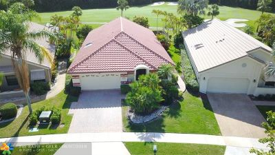 Boca Raton Single Family Home For Sale: 21422 Bridge View