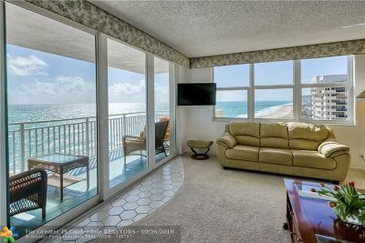 Lauderdale By The Sea Condo/Townhouse For Sale: 5200 N Ocean Blvd #1401