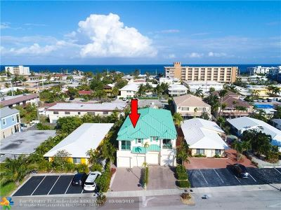 Lauderdale By The Sea Condo/Townhouse For Sale: 4550 Poinciana #4550