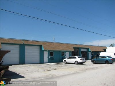 Oakland Park Commercial For Sale: 4805 NE 10th Ave