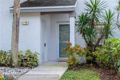 Coconut Creek Condo/Townhouse For Sale: 3359 S Carambola Circle #2424