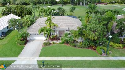 Boca Raton Single Family Home For Sale: 11134 Boca Woods Ln
