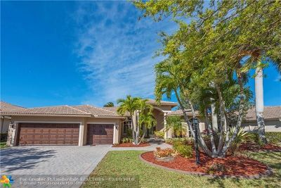 Coral Springs Single Family Home For Sale: 6132 NW 121st Ave