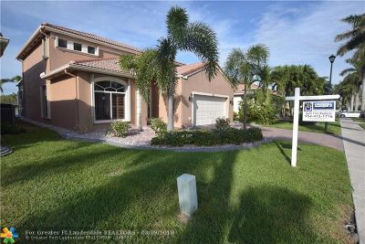 Coconut Creek Single Family Home For Sale: 4515 Banyan Trails Dr