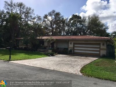 Pembroke Pines Single Family Home Backup Contract-Call LA: 6824 SW 16th Ct