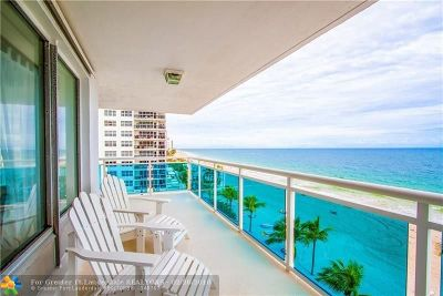Fort Lauderdale Condo/Townhouse Backup Contract-Call LA: 3430 Galt Ocean Dr #606