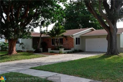 Coconut Creek Single Family Home For Sale: 3860 NW 4th Ct