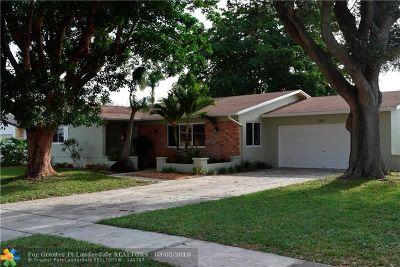 Coconut Creek Single Family Home Backup Contract-Call LA: 3860 NW 4th Ct