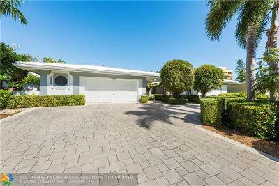 Sunrise Intracoastal Single Family Home For Sale: 2357 NE 8th St