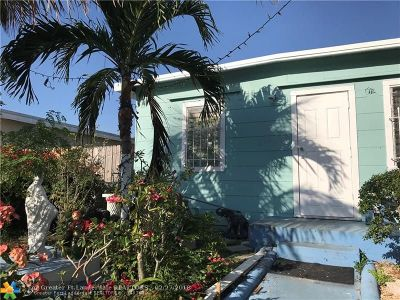Lake Worth Single Family Home For Sale: 629 N F St