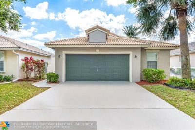 Coconut Creek Single Family Home Backup Contract-Call LA: 6372 NW 40th Avenue
