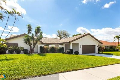 Deerfield Beach Single Family Home For Sale: 2304 Deer Creek County Club Blvd