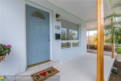 Oakland Park Single Family Home Backup Contract-Call LA: 120 NE 56th St