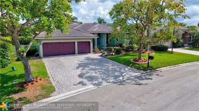 Coral Springs Single Family Home For Sale: 461 NW 118th Way
