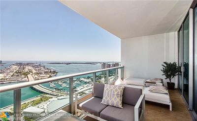 Miami Condo/Townhouse For Sale: 900 Biscayne Blvd #PH6003
