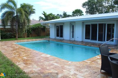 Fort Lauderdale Single Family Home For Sale: 2155 NE 56th Pl