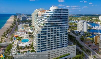 Fort Lauderdale Condo/Townhouse For Sale: 1 N Fort Lauderdale Beach Blvd #1804