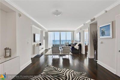 Fort Lauderdale Rental For Rent: 1 N Fort Lauderdale Beach Blvd #1804