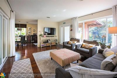 Oakland Park Single Family Home Backup Contract-Call LA: 3281 NW 6th Ave