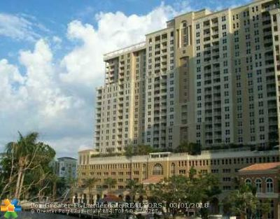 Fort Lauderdale Condo/Townhouse For Sale: 511 SE 5th Ave #1704