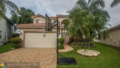 Coconut Creek Single Family Home For Sale: 6380 Osprey Ter