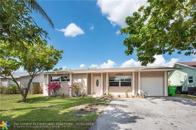 Sunrise Single Family Home Backup Contract-Call LA: 11391 NW 37th St