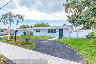 Pembroke Pines Single Family Home Backup Contract-Call LA: 7730 Taft St