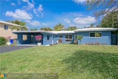 Fort Lauderdale Single Family Home For Sale: 2117 NE 29th Street