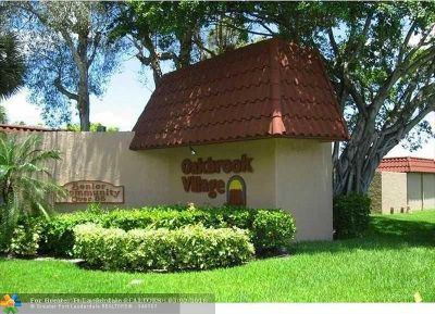 North Lauderdale Condo/Townhouse For Sale: 8260 SW 24th St #6112