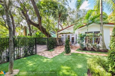Fort Lauderdale FL Single Family Home For Sale: $749,500