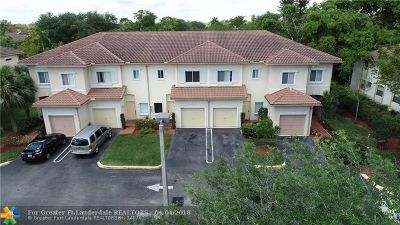 Coral Springs Condo/Townhouse For Sale: 2358 Coral Springs Dr #9