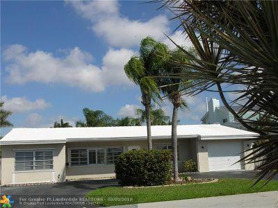 Pompano Beach Single Family Home For Sale: 2253 SE 11th St
