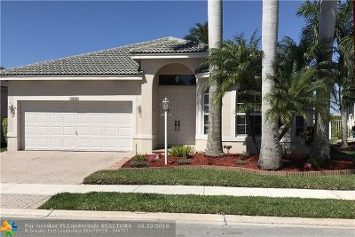 Coral Springs FL Single Family Home For Sale: $449,000
