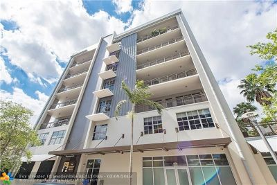 Fort Lauderdale Condo/Townhouse For Sale: 411 NW 1st Ave #506