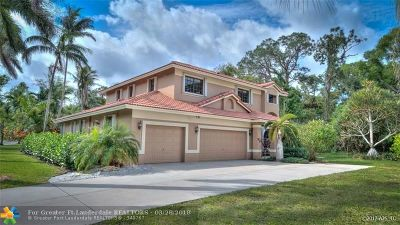 Davie Single Family Home For Sale: 2991 Hidden Hollow Ln