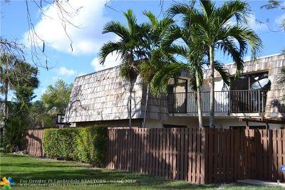 North Lauderdale Condo/Townhouse Backup Contract-Call LA: 8284 S Coral Cir #8284