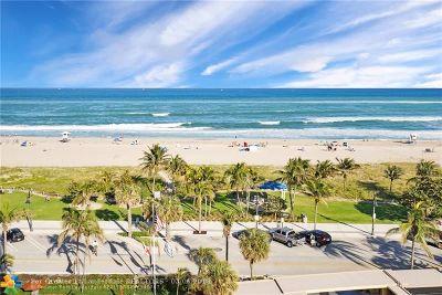 Pompano Beach Condo/Townhouse For Sale: 328 N Ocean Blvd #807