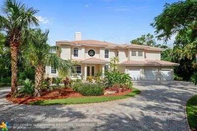 Coral Springs FL Single Family Home For Sale: $859,000